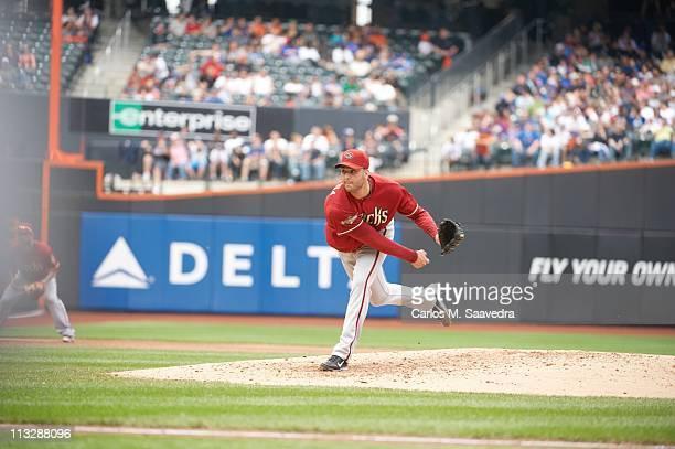 Arizona Diamondbacks Armando Galarraga in action pitching vs New York Mets at Citi FieldFlushing NY 4/24/2011CREDIT Carlos M Saavedra