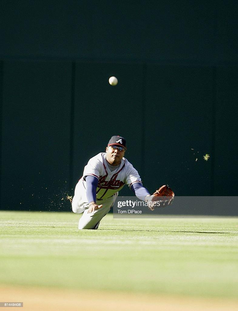 Atlanta Braves Andruw Jones... : News Photo