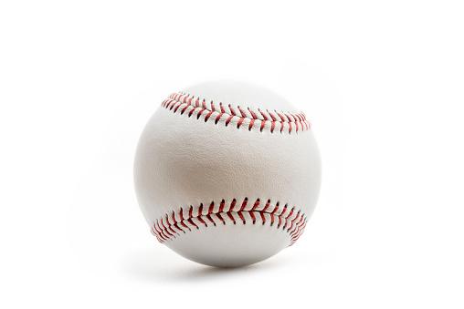baseball ball on white background. 940922378