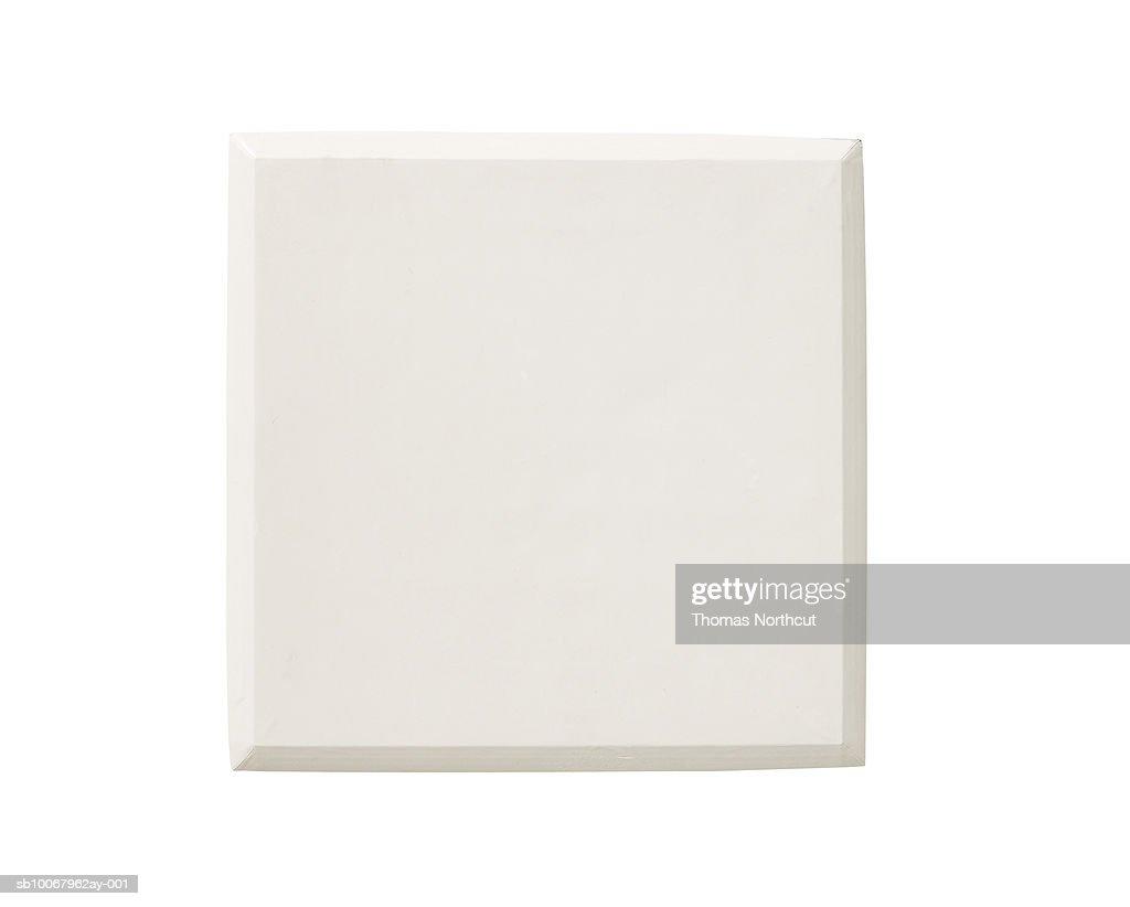 Baseball base on white background : Stock Photo