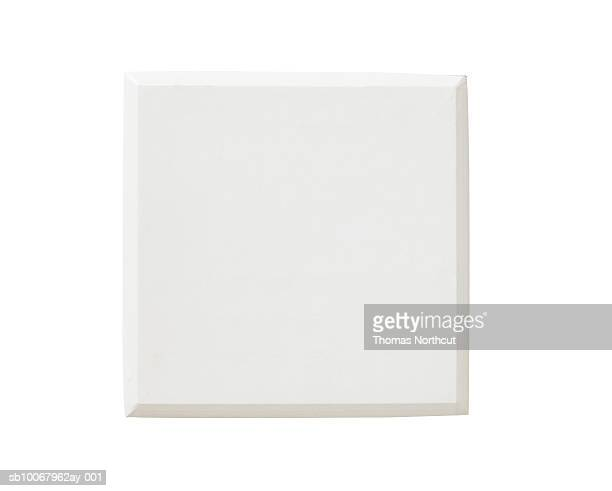 Baseball base on white background