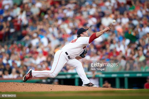 Boston Red Sox Ben Taylor in action pitching vs Chicago Cubs at Fenway Park Boston MA CREDIT Rob Tringali