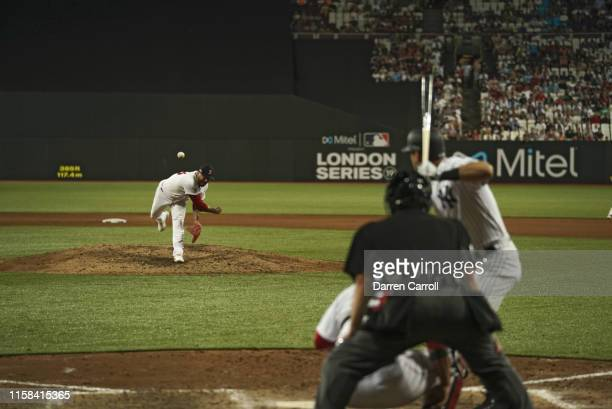 Boston Red Sox Hector Velazquez in action pitching vs New York Yankees at London Stadium London Series London England 6/29/2019 CREDIT Darren Carroll