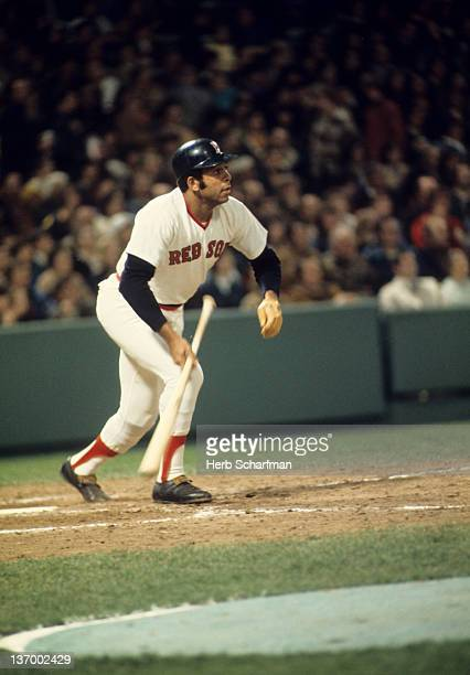 Boston Red Sox Orlando Cepeda in action at bat vs Minnesota Twins at Fenway Park Boston MA CREDIT Herb Scharfman