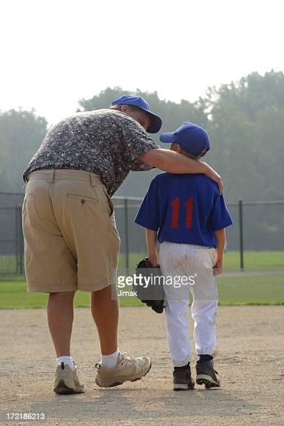 Baseball Boy and Dad/Coach 2