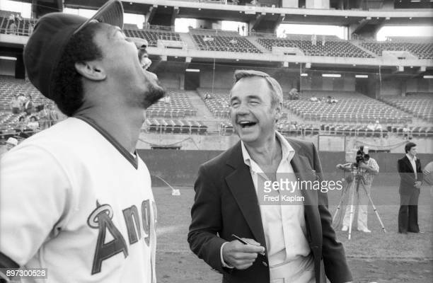 Image result for dick enberg california angels