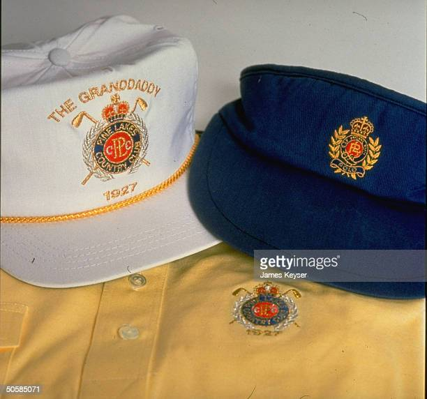 Baseball caps w courtbanned Ralph Lauren/Polo logo similar original trademarked SC Pine Lakes Country Club logo