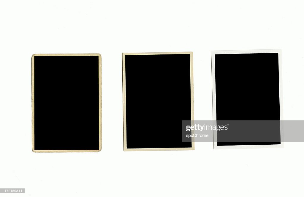 Baseball Card Frames 50s 70s And Current Stock Photo | Getty Images