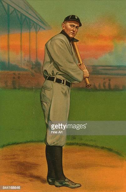 Baseball card from 1911.