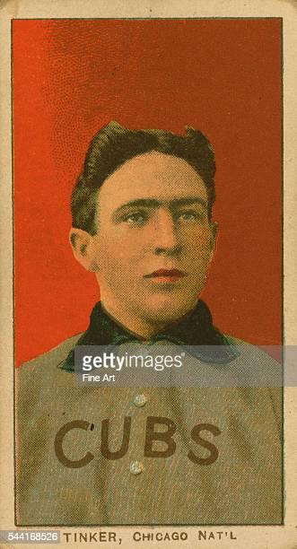 Baseball card from circa 1909-1911.