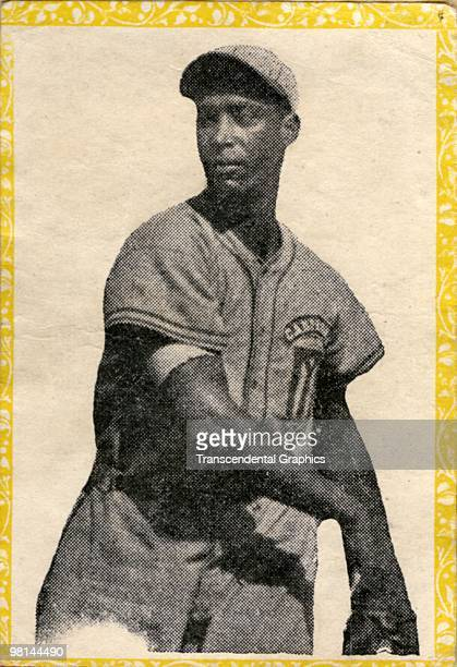 Baseball card of Martin Dihigo of the Cienfuegos Club, issued by a candy company in Havana in 1947, was made to be placed in an album with other...