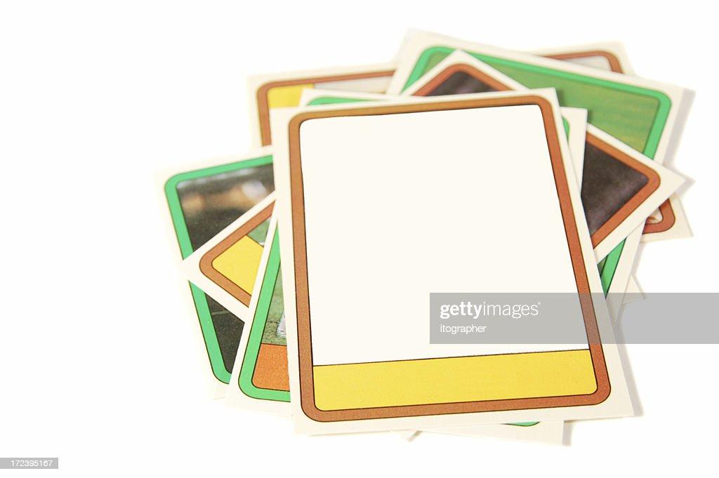 Baseball cards : Stock Photo