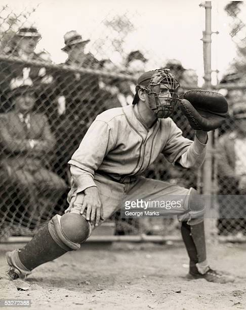 baseball catcher - baseball sport stock pictures, royalty-free photos & images