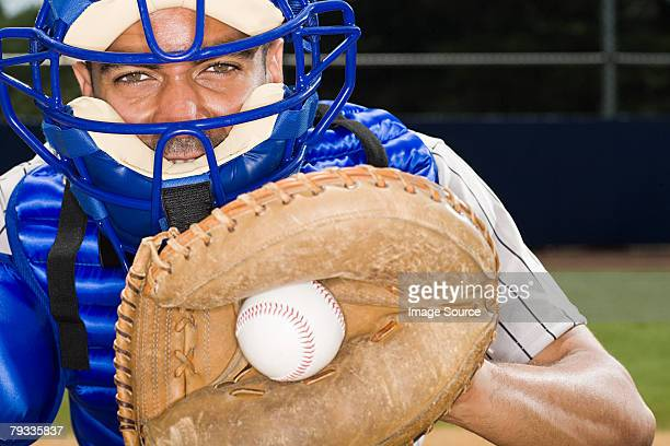 baseball catcher - baseball catcher stock pictures, royalty-free photos & images
