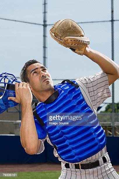 baseball catcher - 野球のユニフォーム ストックフォトと画像