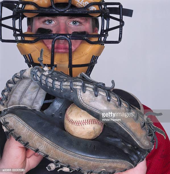 baseball catcher - キャッチャー ストックフォトと画像