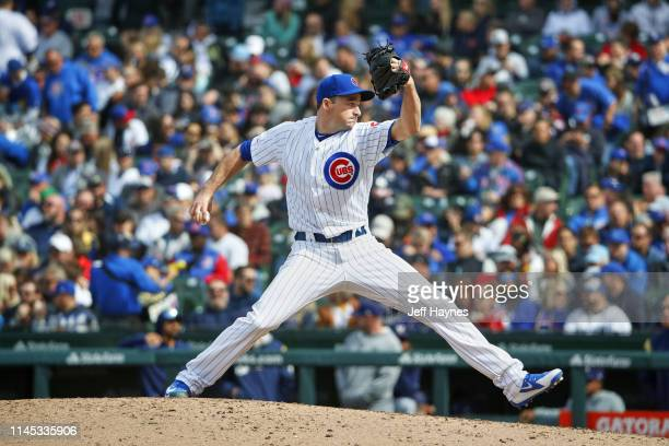 Chicago Cubs Allen Webster in action, pitching vs Milwaukee Brewers at Wrigley Field. Chicago, IL 5/10/2019 CREDIT: Jeff Haynes