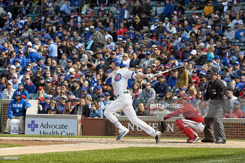 Chicago Cubs vs Washington Nationals : News Photo