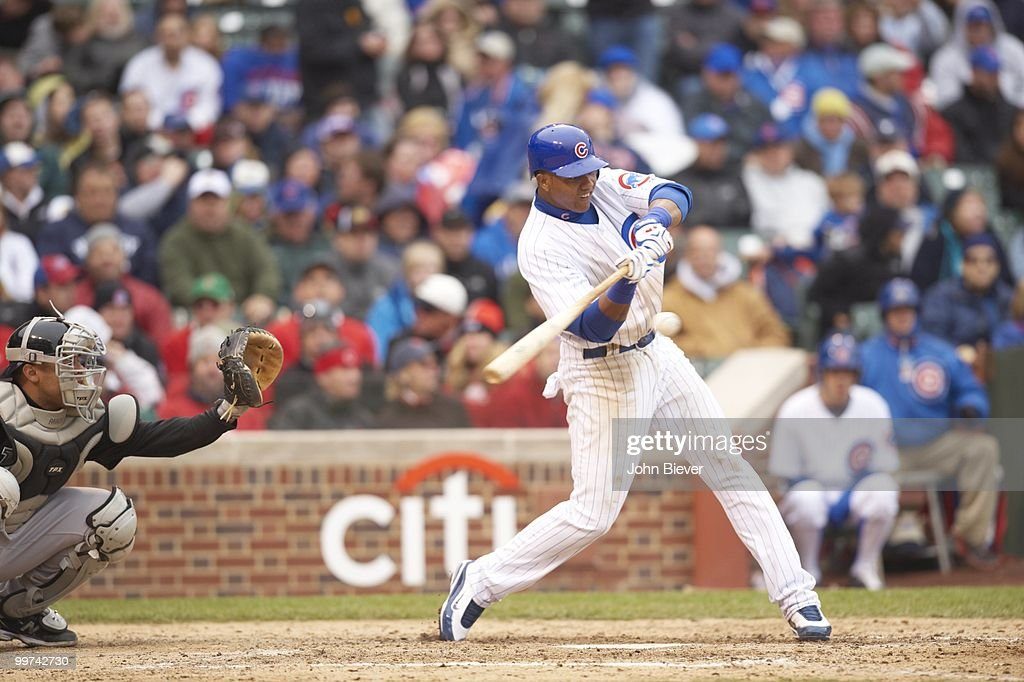 Chicago Cubs vs Florida Marlins : News Photo