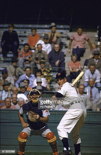 Baseball Cleveland Indians Al Rosen in action during spring training Tuscon AZ 3/7/1955