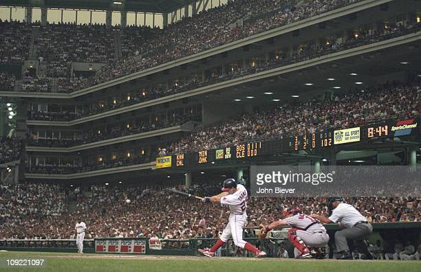 Cleveland Indians Jim Thome in action at bat vs Boston Red Sox at Jacobs FieldCleveland OH 6/21/1995CREDIT John Biever