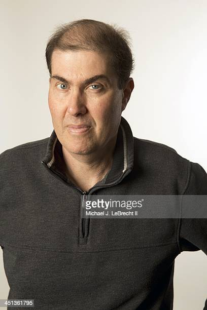 Closeup portrait of Major League Baseball Players Association executive director Michael Weiner during photo shoot in MLBPA offices at Rockefeller...