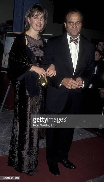 Baseball Coach Joe Torre and wife Alice Wolterman attend Children at Heart Benefit on November 11 1998 at Pier 60 at Chelsea Piers in New York City