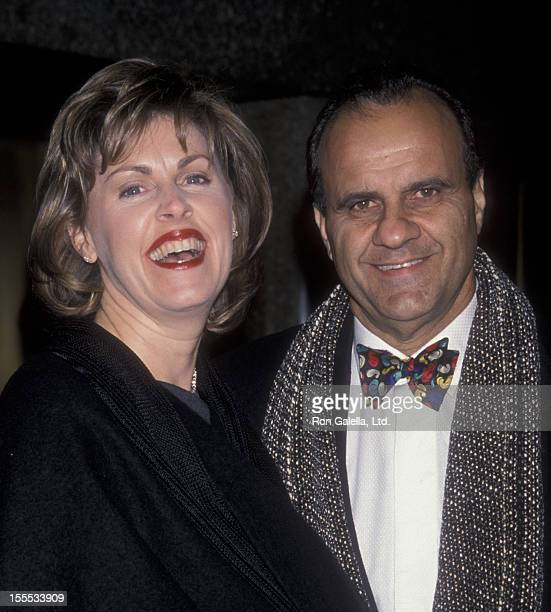 Baseball Coach Joe Torre and wife Alice Wolterman attend Seventh Annual ESPY Sports Awards on February 15 1999 at Radio City Music Hall in New York...