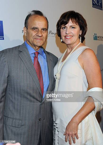 Baseball coach Joe Torre and wife Alice Wolterman attend the 13th Annual Harold And Carole Pump Foundation Gala Honoring Jamie Foxx Shaquille O'Neal...