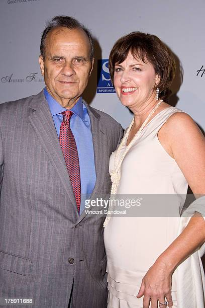 Baseball coach Joe Torre and wife Alice Wolterman attend the 13th annual Harold Carole Pump Foundation gala at The Beverly Hilton Hotel on August 9...