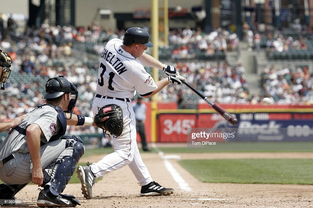 Detroit Tigers Chris Shelton... : News Photo
