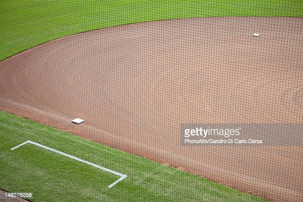 Baseball diamond, cropped