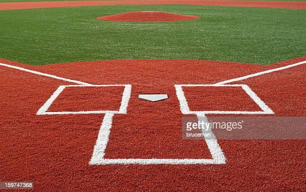 terrain de baseball - terrain de baseball photos et images de collection