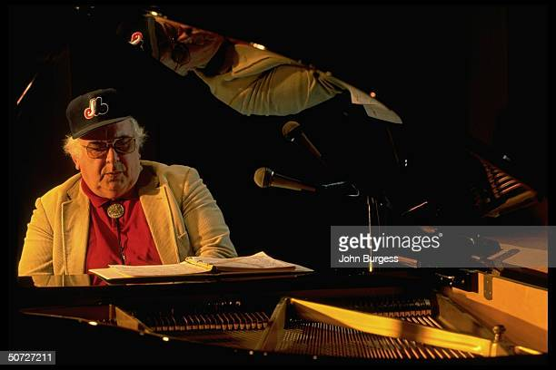 Feature Portrait of Montreal Expos John Wetteland's father Ed alone playing piano