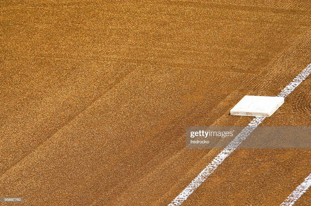 Baseball Field at Baseball Game : Stock Photo