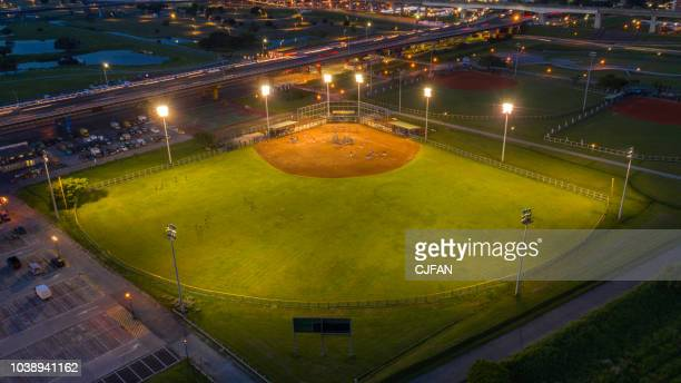 Baseball field from the sky