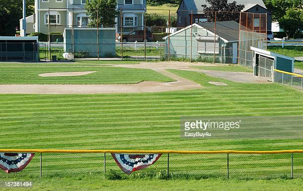 baseball field - sports dugout stock pictures, royalty-free photos & images