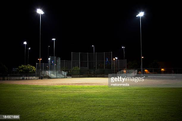baseball field - baseball diamond stock pictures, royalty-free photos & images