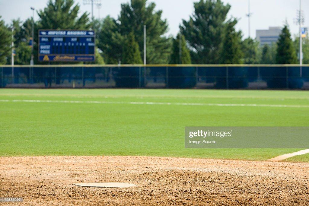 Baseball field : Stock Photo