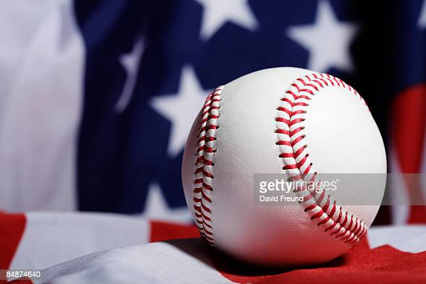 baseball flag - flag texture stock photos and pictures