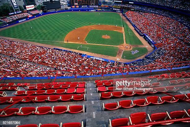 Baseball Game at Shea Stadium