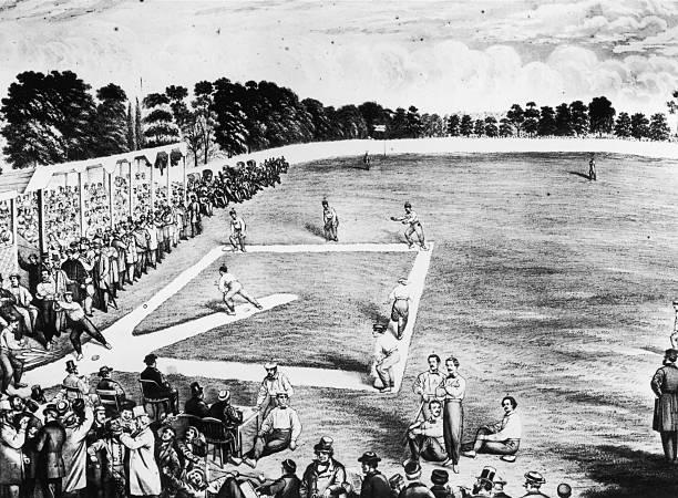A baseball game in Philadelphia between the Philadelphia...