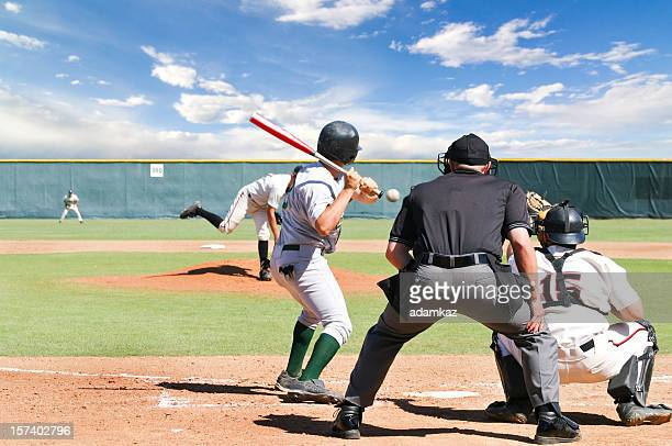 baseball game - sports league stock pictures, royalty-free photos & images
