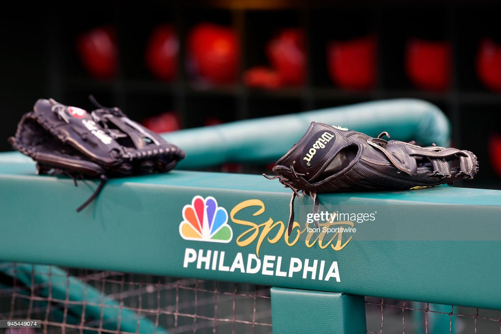 MLB: APR 11 Reds at Phillies : News Photo