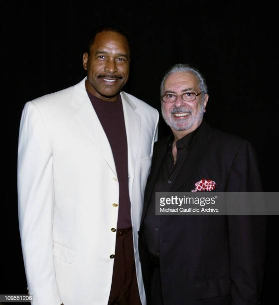 Baseball Hall of Famer Dave Winfield and GQ EditorinChief Art Cooper