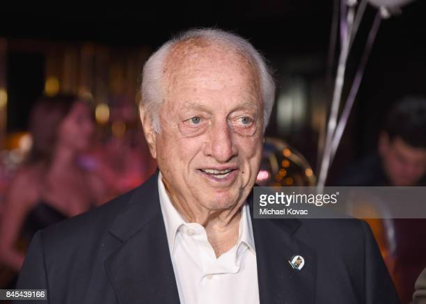 Baseball Hall of Famer Tommy Lasorda at the Heroes for Heroes: Los Angeles Police Memorial Foundation Celebrity Poker Tournament at Avalon on...