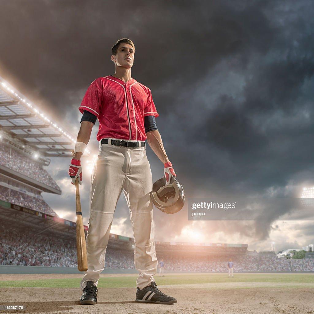 Baseball Hero : Stock Photo