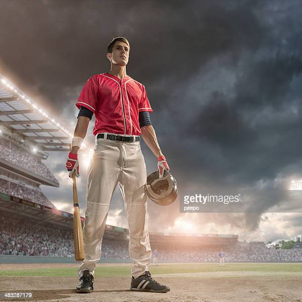 baseball hero - pitcher stockfoto's en -beelden