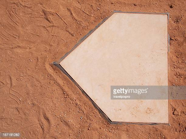 baseball home plate - home base sports stock pictures, royalty-free photos & images
