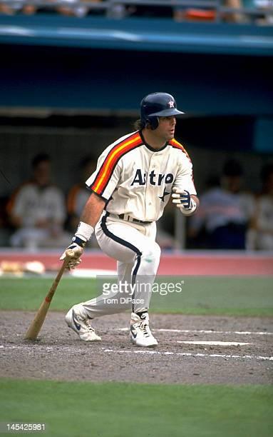 Houston Astros Ken Caminiti in action at bat vs Florida Marlins at Joe Robbie Stadium Miami FL CREDIT Tom DiPace